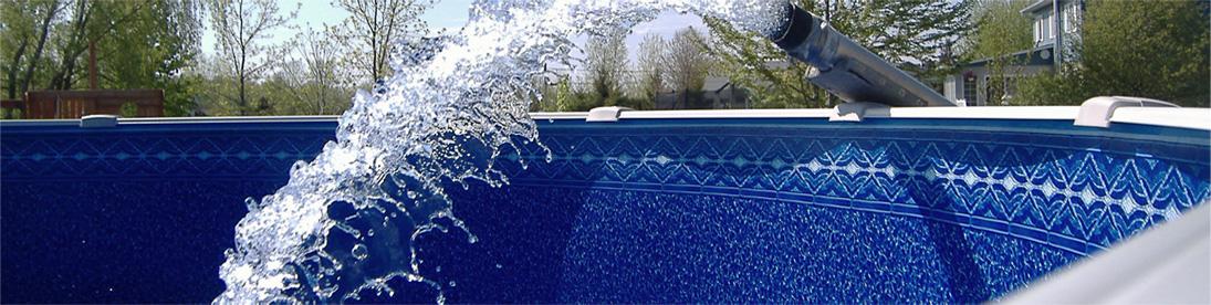 eau chaude piscine et spa